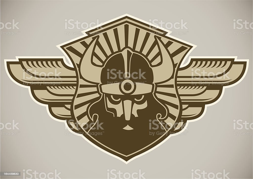 Crest with viking. royalty-free crest with viking stock vector art & more images of adult