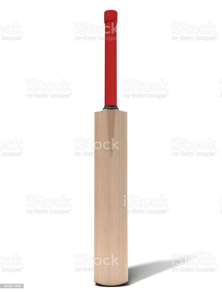 Cricket Bat vector art illustration
