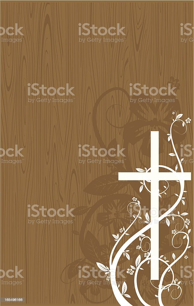 cross wood royalty-free cross wood stock vector art & more images of backgrounds