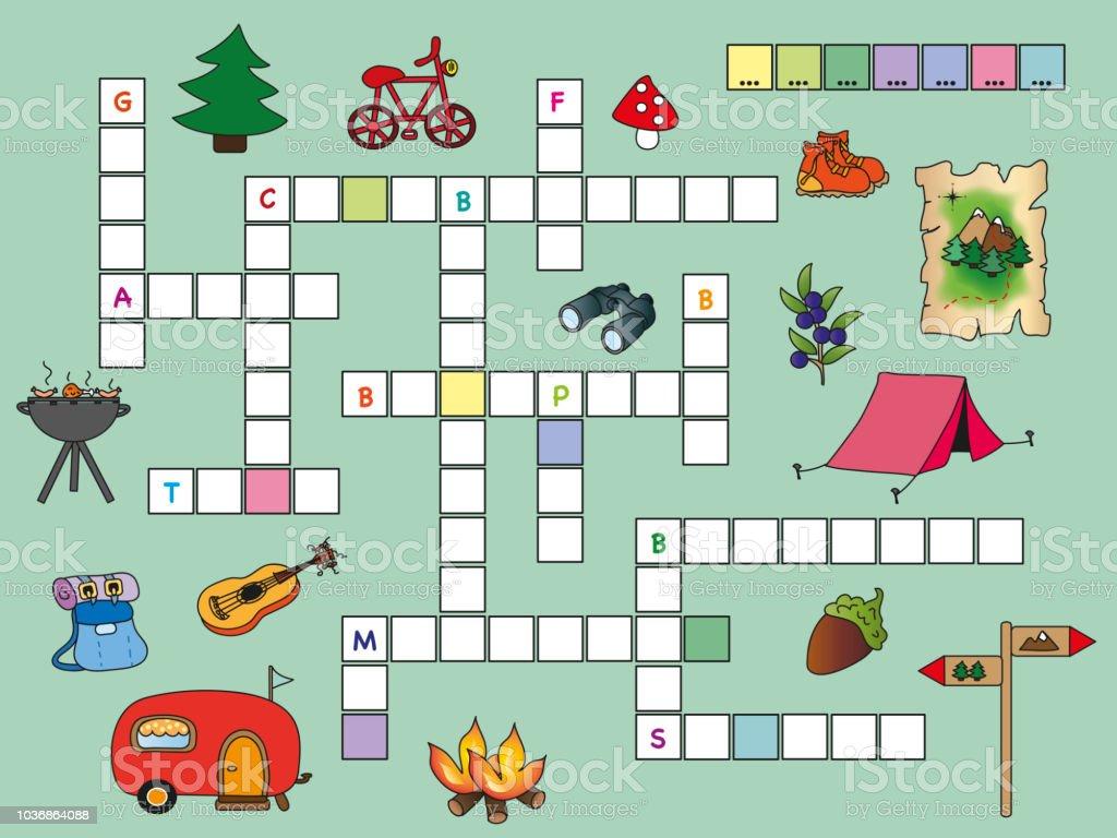 Christmas In Italy Crossword.Crossword Stock Vector Art More Images Of Accuracy Istock
