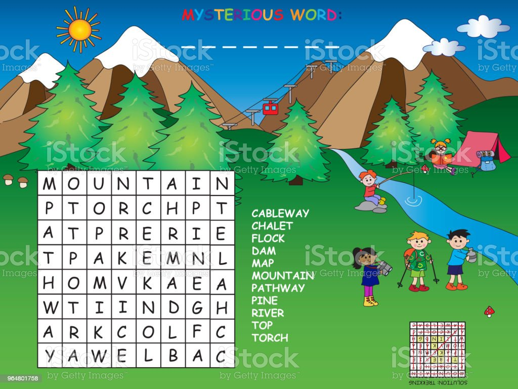 crossword royalty-free crossword stock illustration - download image now