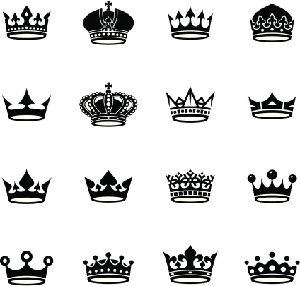 crown black and white collection