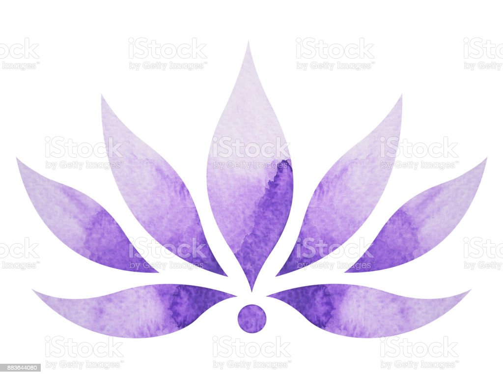 Crown chakra symbol concept flower floral watercolor painting color crown chakra symbol concept flower floral watercolor painting color hand drawn icon icon buycottarizona Image collections