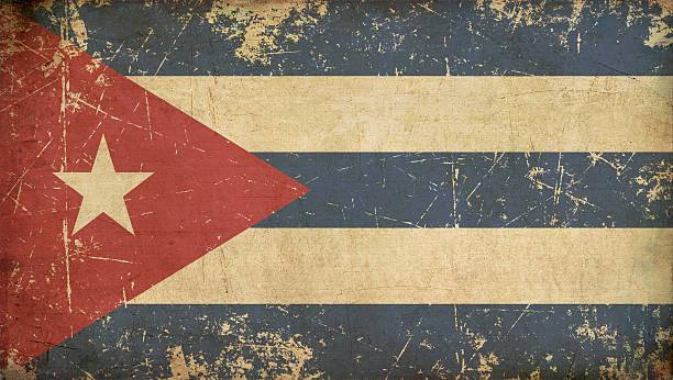 Plano de bandera cubana - ilustración de arte vectorial