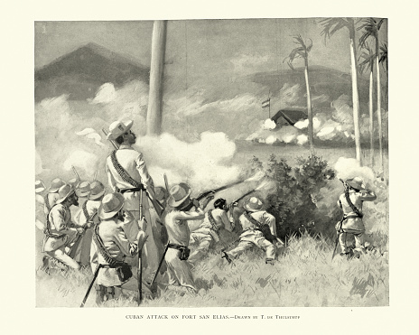 Cuban War of Independence, Cuban attack on Fort San Elias