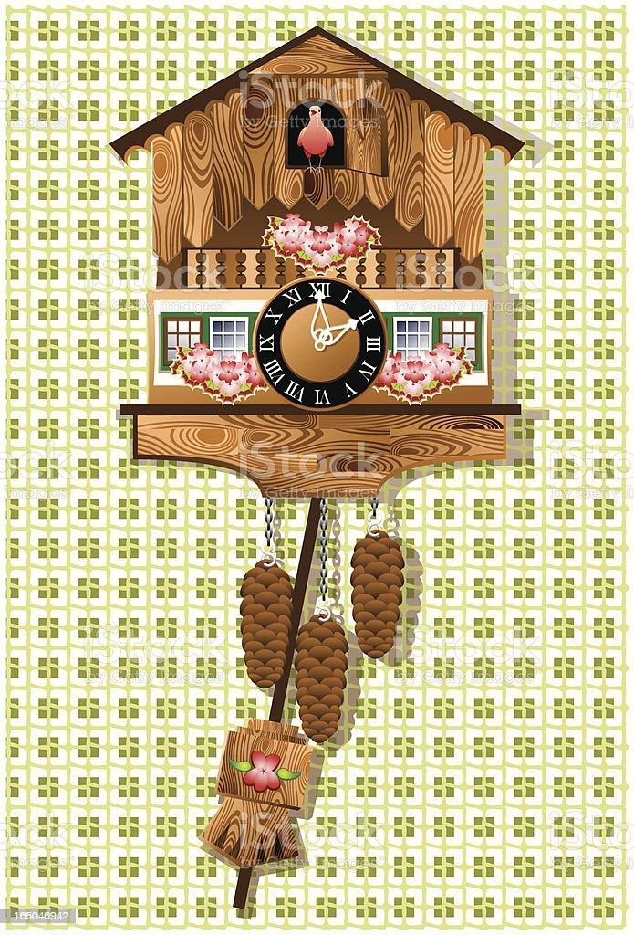 abc7735a7e7 Relógio de Cuco relógio de cuco - arte vetorial de stock e mais imagens de  cultura