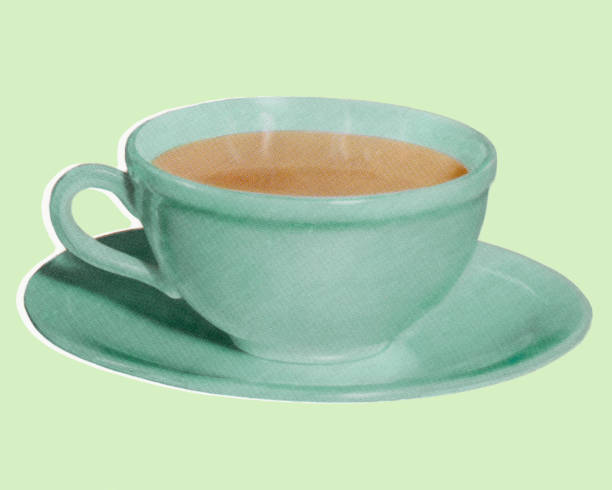 cup of coffee - coffee stock illustrations, clip art, cartoons, & icons