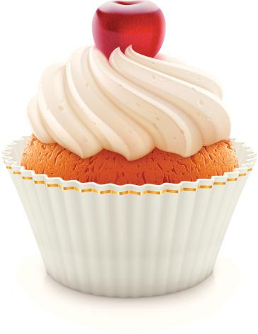 Cupcake Stock Illustration - Download Image Now