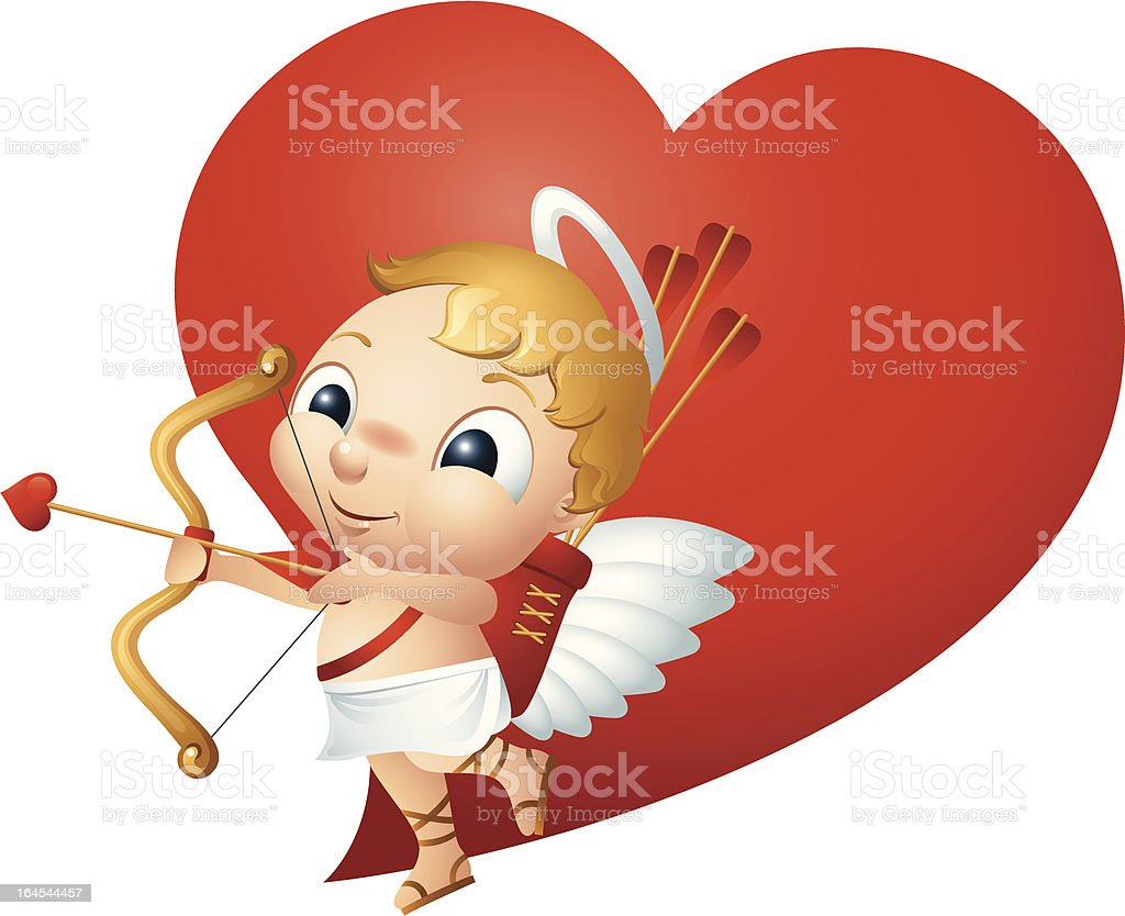 Cupid royalty-free stock vector art