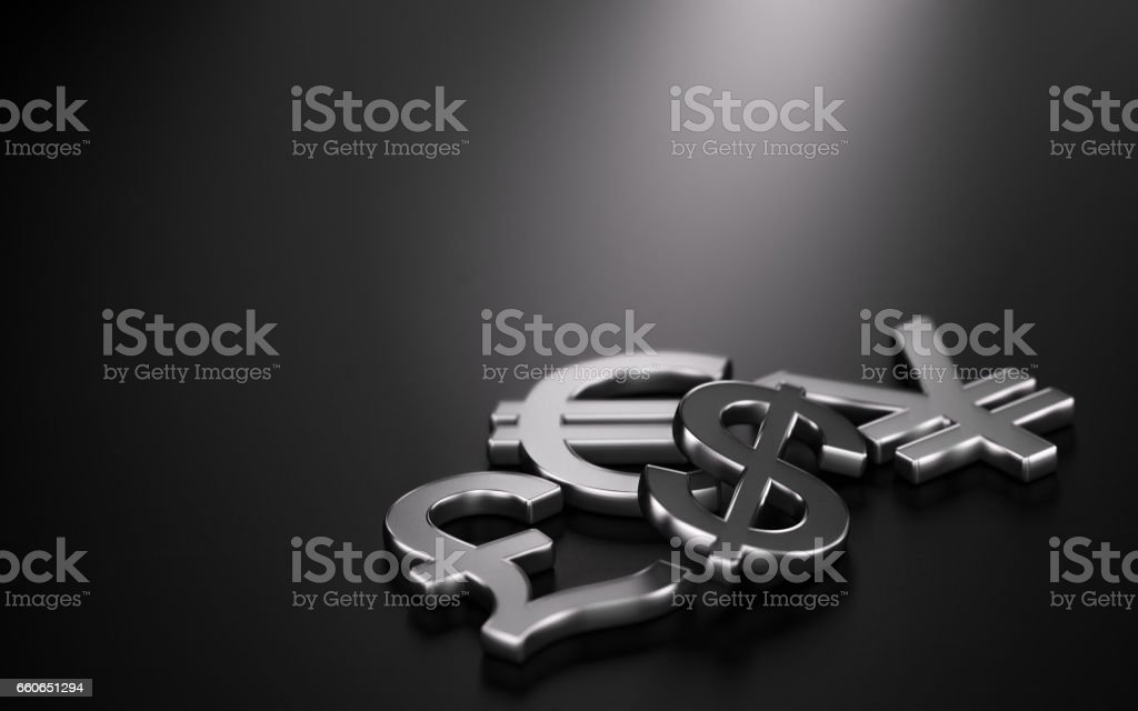 Currencies, Forex Trading. vector art illustration