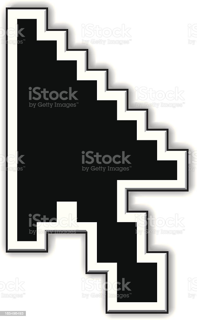 Cursor royalty-free stock vector art
