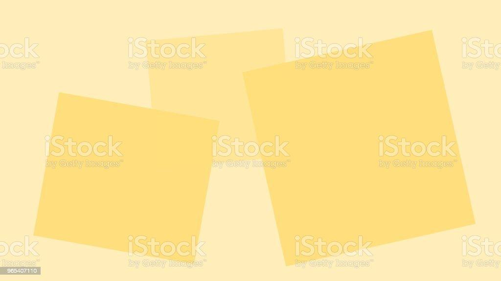 Customize to mimic paper square has space to write. customize to mimic paper square has space to write - stockowe grafiki wektorowe i więcej obrazów abstrakcja royalty-free