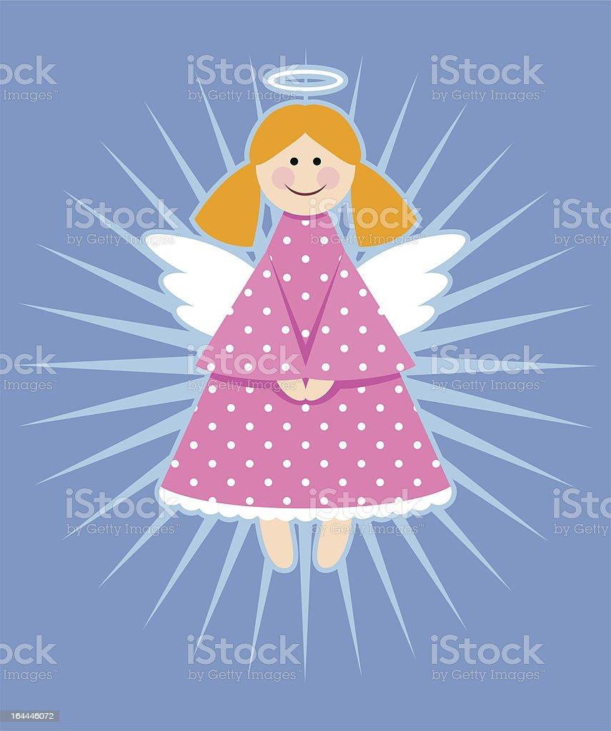 Süße Engel Stock Vektor Art Und Mehr Bilder Von Blau 164446072 Istock