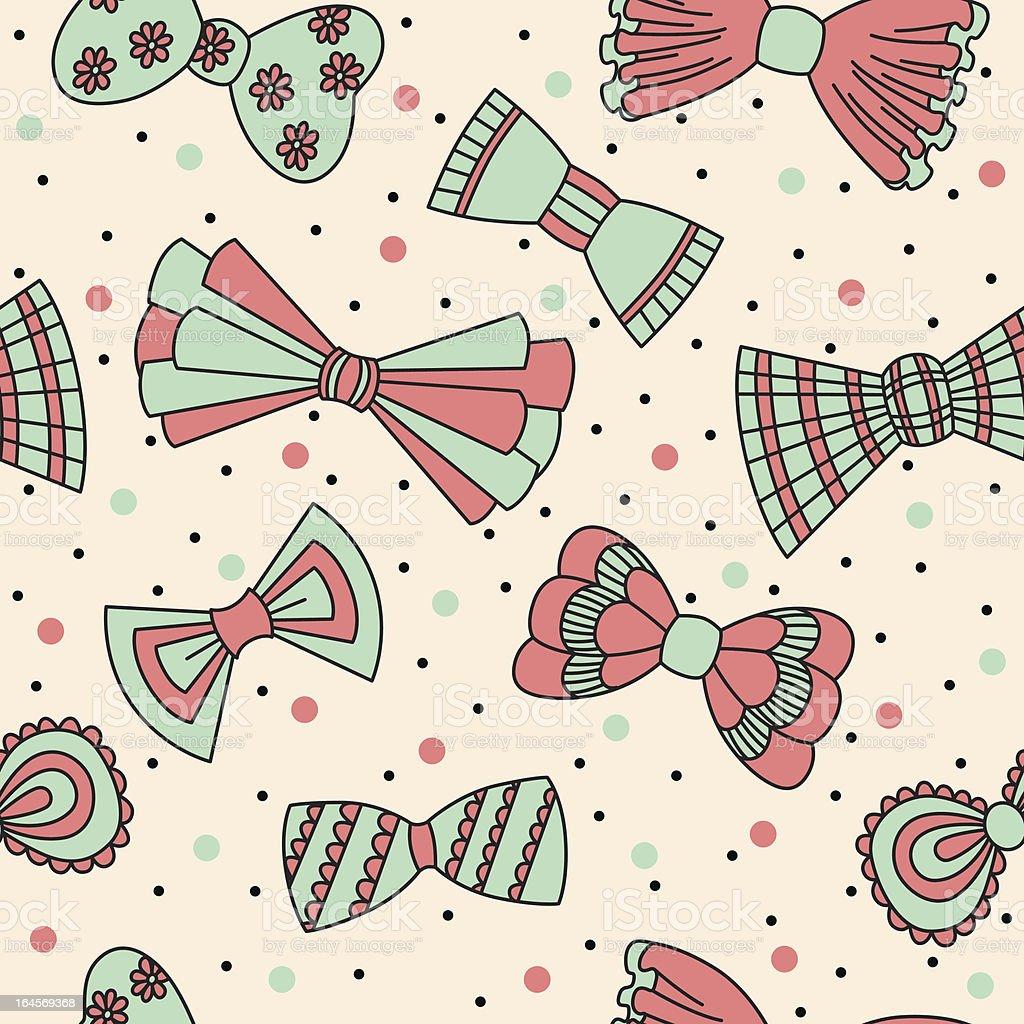 Cute bow royalty-free stock vector art