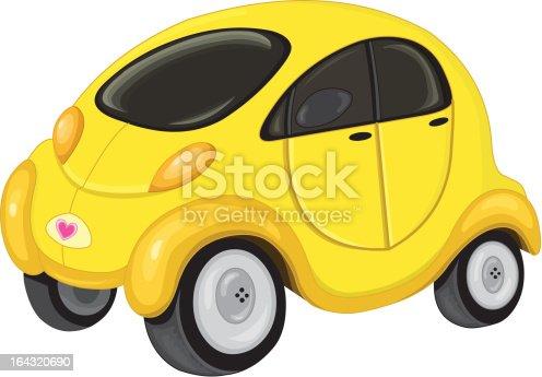 Cute mini car