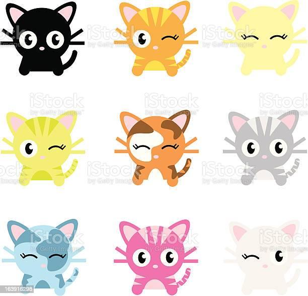 Cute cat characters illustration id163916298?b=1&k=6&m=163916298&s=612x612&h=fqiyvah4mflrjlsccujjw bxqdtr43kaf8zxzow0rdg=