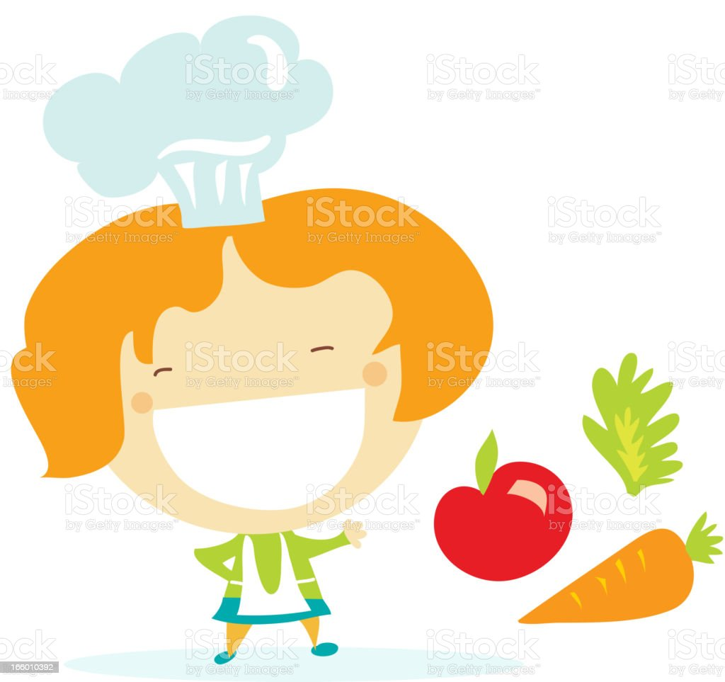 Cute chef royalty-free cute chef stock vector art & more images of adult