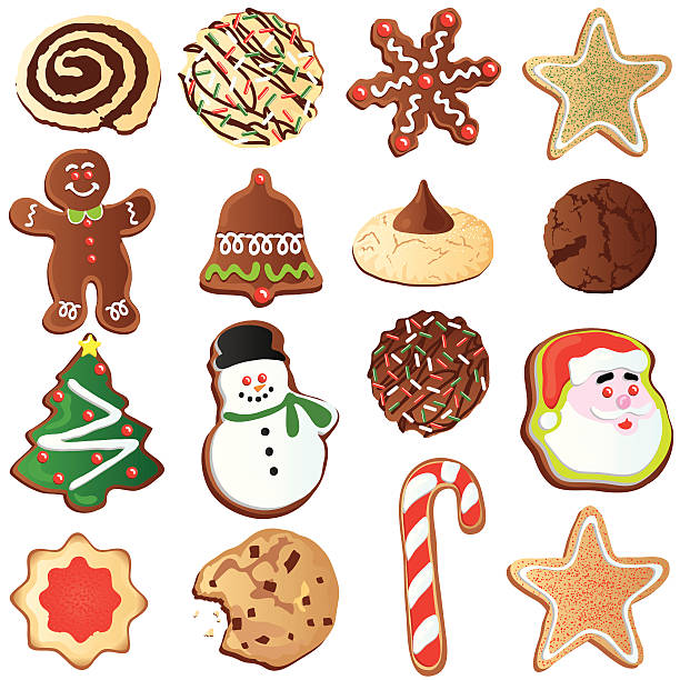 Best Sugar Cookie Illustrations Royalty Free Vector Graphics Clip