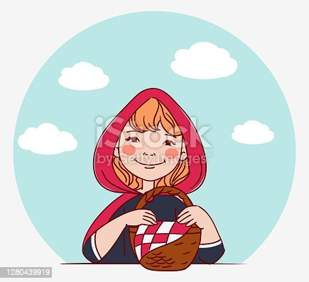 Cute kid in carnival costume. Vector illustration