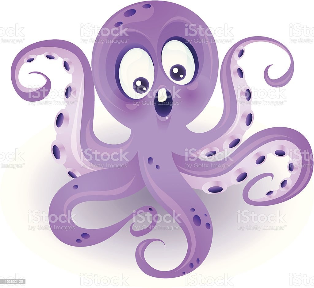 Cute Octopus Stock Illustration - Download Image Now - iStock