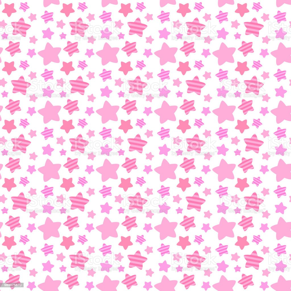 Cute random star seamless pattern royalty-free cute random star seamless pattern stock vector art & more images of backgrounds