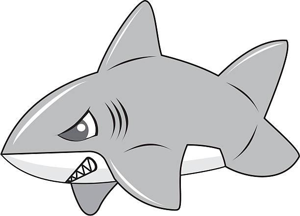 Royalty Free Shortfin Mako Shark Clip Art, Vector Images ...