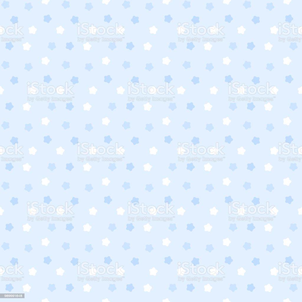 Cute star pattern seamless pattern vector art illustration