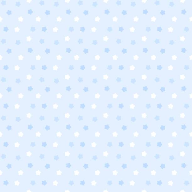 かわいい星のパターンのシームレス パターン ベクターアートイラスト