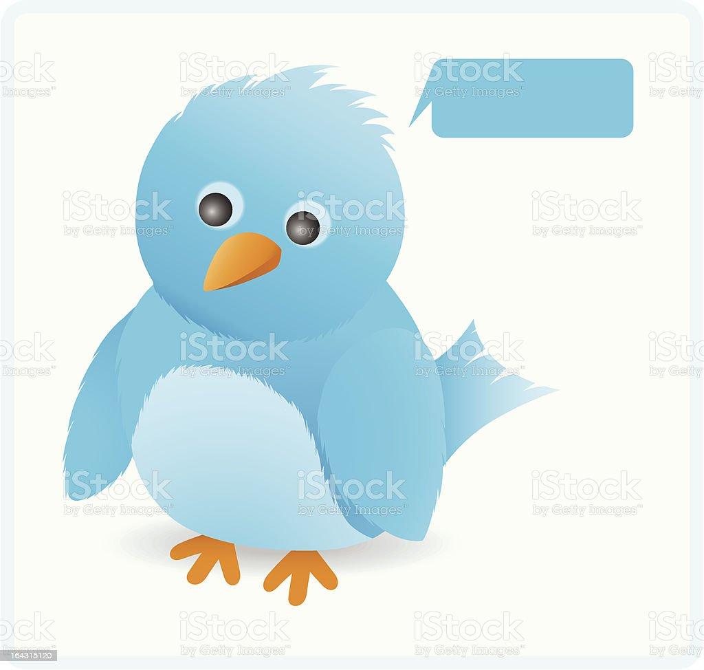Cute twitter bird royalty-free cute twitter bird stock vector art & more images of animal