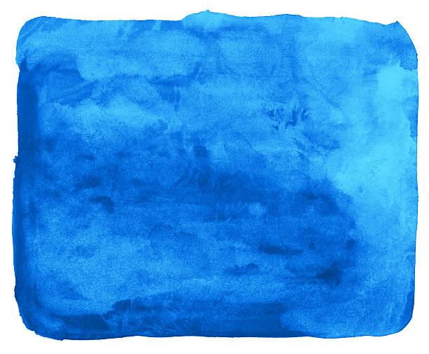 stockillustraties, clipart, cartoons en iconen met cyan blue watercolor background painting - texture