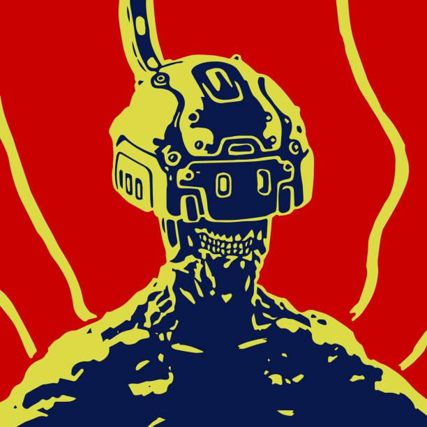 bildbanksillustrationer, clip art samt tecknat material och ikoner med cybersport. hjälmen av virtuell verklighet - tron sci fi
