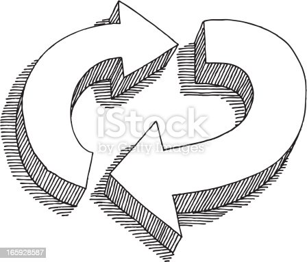 Paper recycling Stock Illustrations 11446 Paper