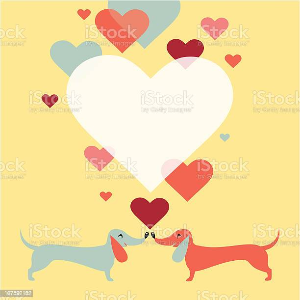 Dachshund dogs love illustration id167592182?b=1&k=6&m=167592182&s=612x612&h=rm6mk7uiknefiuuxxkx 4bm13v oqw hjenztlu7pi8=