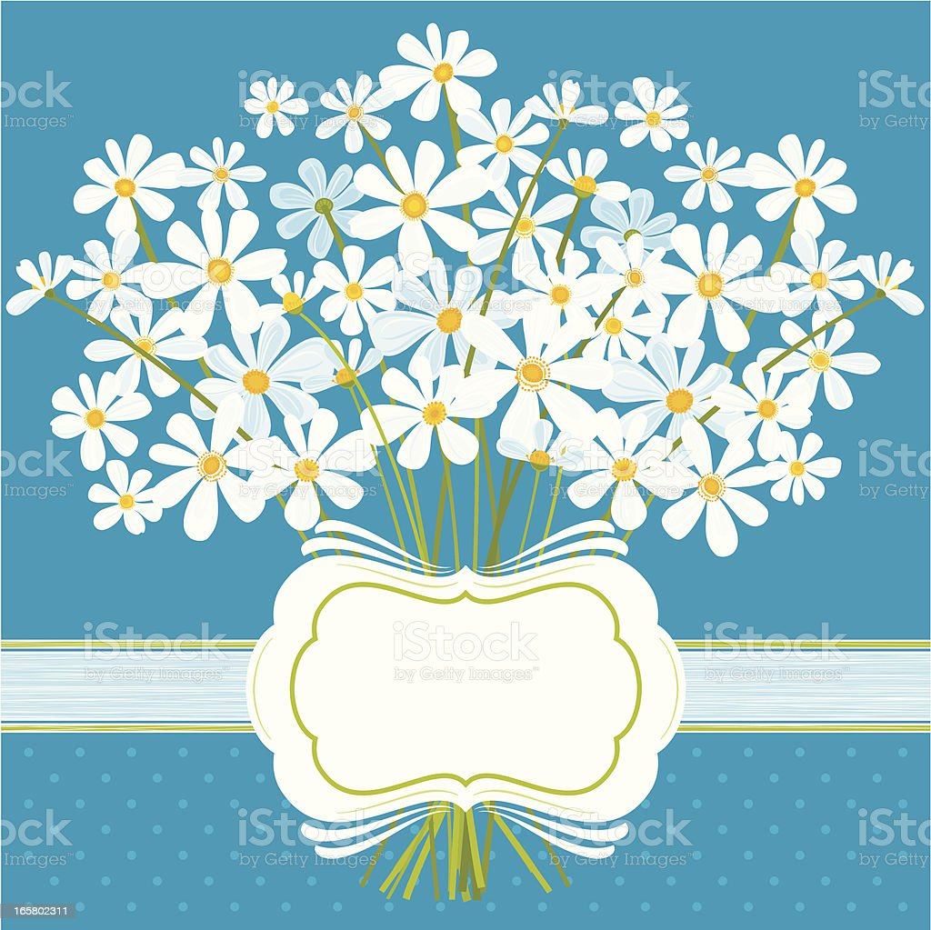 Daisies on Blue royalty-free daisies on blue stock vector art & more images of abstract