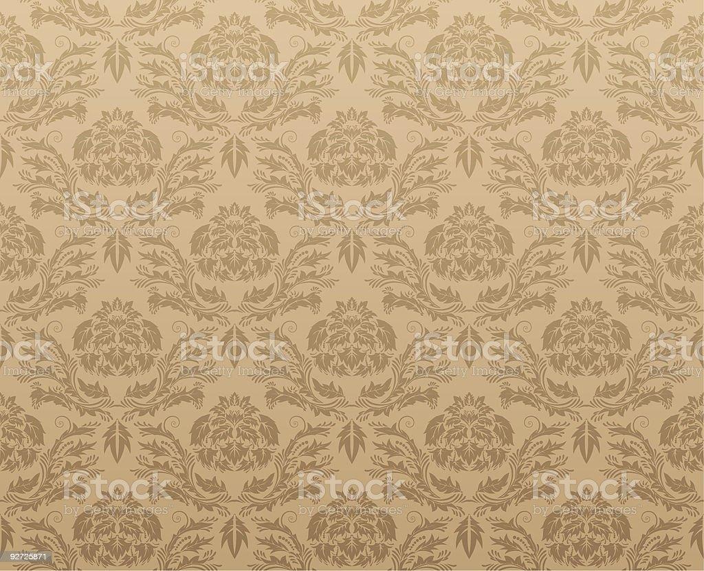 damask seamless royalty-free stock vector art