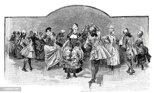 istock Dance in ancient times 1288897997
