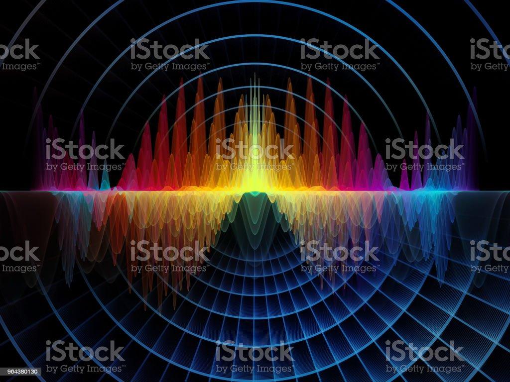 Dance of Oscillation vector art illustration