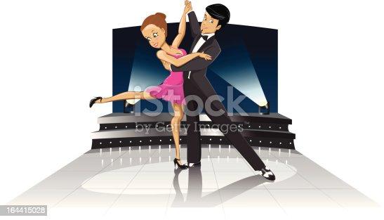 istock Dancing couple 164415028