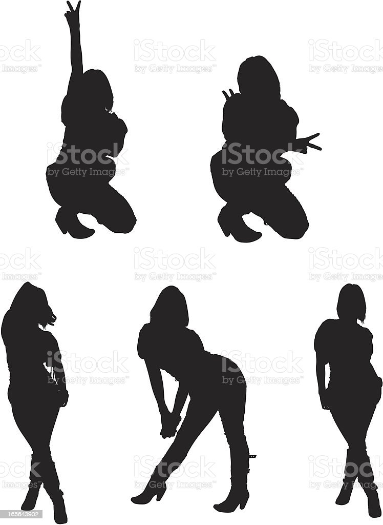 Dancing Girl royalty-free dancing girl stock vector art & more images of activity
