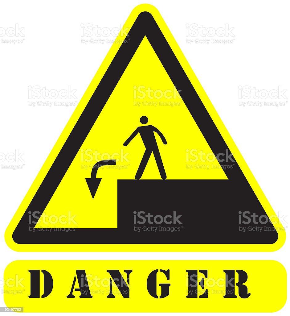 danger3 sign royalty-free danger3 sign stock vector art & more images of alertness