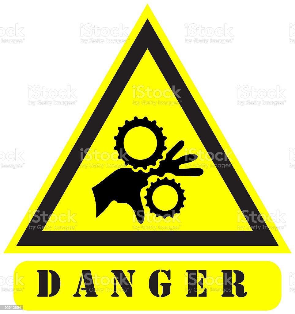 danger8 sign royalty-free stock vector art