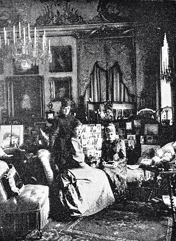 Danish queen's boudoir