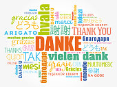 Danke (Thank You in German)