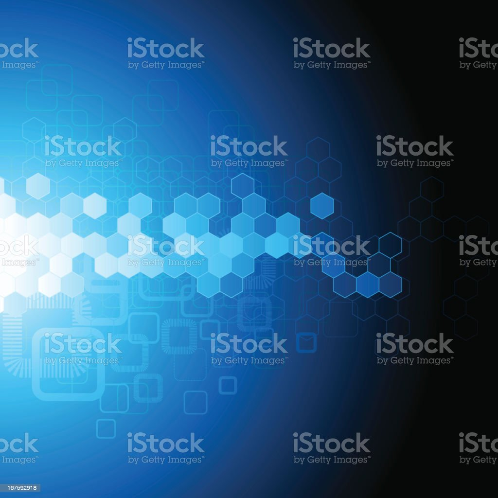Dark blue abstract background royalty-free stock vector art