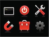 Dark collection - Toolbox