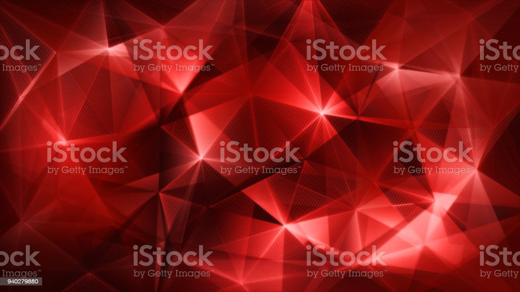dark red triangles network trendy abstract background vector art illustration