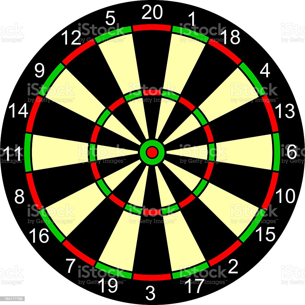 dartboard royalty-free dartboard stock vector art & more images of accuracy