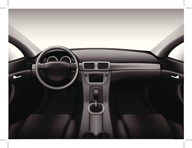 royalty free car interior clip art vector images illustrations istock. Black Bedroom Furniture Sets. Home Design Ideas
