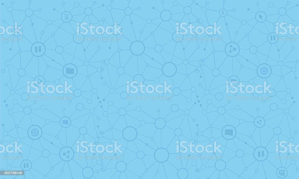 Data Downloading 1 vector art illustration