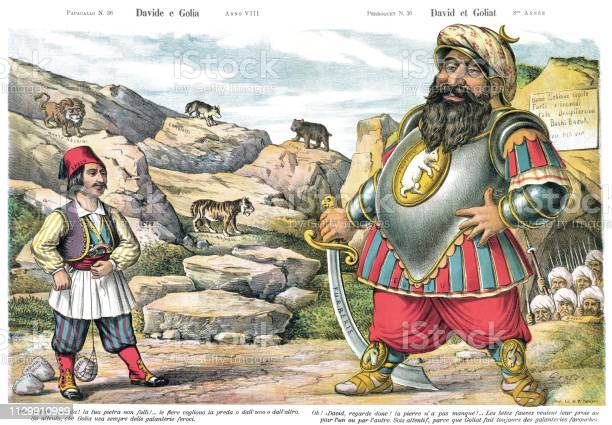 free david goliath images pictures and royalty free